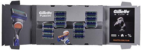 Gillette Fusion Cuchillas de afeitar para hombres,