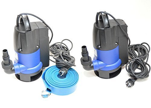 Flachsaugende Tauchpumpe Flachsaugend bis 2-3 mm Schmutzwasserpumpe 1