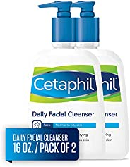 Daily Facial Cleanser For Normal to Oily Skin by Cetaphil for Unisex - 16 oz Cleanser