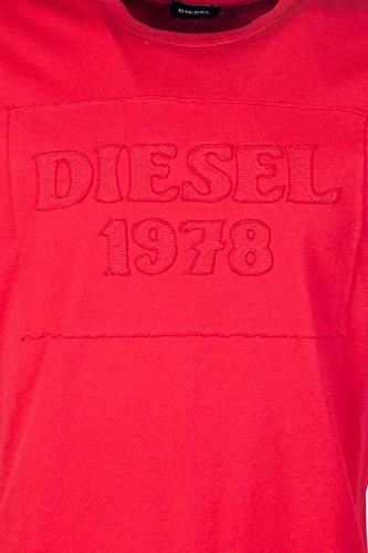 Diesel Herren T-Shirt rot rot XL Rot