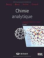 Chimie analytique de Douglas A. Skoog