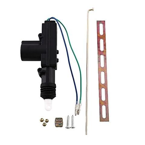 Sedeta 2 Wire Door Central Lock 12V DC Motor Solenoid Actuator Car Safety