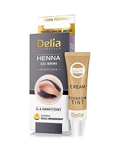 Delia Henna Creme Graphit für Augenbrauen 30 ml