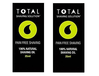 Total Shaving Solution TSS Shaving Oil - 2x25 ml Bottles