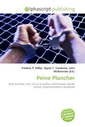 Peine Plancher