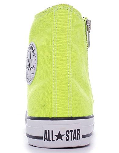 Converse Chuck Taylor Baskets All Star Side Zip Hi Hi Zip Unisexe Giallo 9c7e36