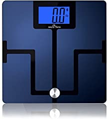 Easy@Home Bluetooth Body Fat Digital Scale with App for Smartphones and Tablets
