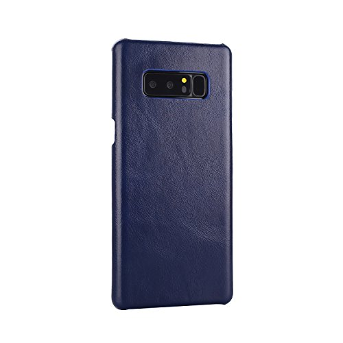 Frosted Style Genium Leder Rüstung Shell Back Cover Case für Samsung Galaxy Note 8 ( Color : Red ) Blue