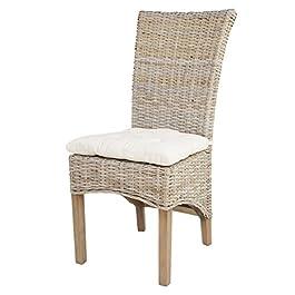 Chaise TAO en rotin kubu