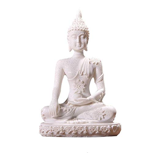 ZXH77f Estatuas De Buda Antigüedades De Bronce Acabado Tailandés Sentado Estatua De...