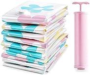 مجموعة من حقائب التخزين المفرغة من الهواء من 11 قطعة لكل مجموعة للتخزين، حقائب مفرغة مضغوطة الحجم لتنظيم الملا