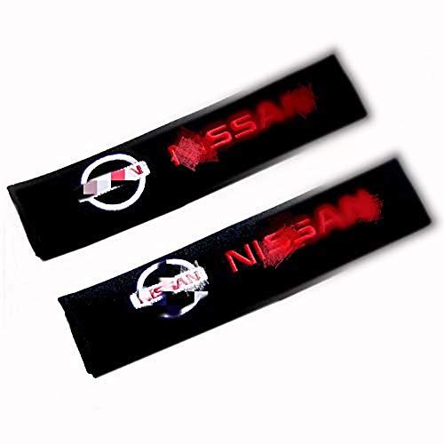 YYD Auto Sicherheitsgurt Schulterpolster Gurtbezüge Kissen,Nissan