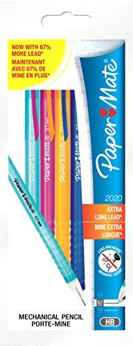 paper-mate-pencil-2020-portamine-da-07-mm-confezione-da-4-pezzi