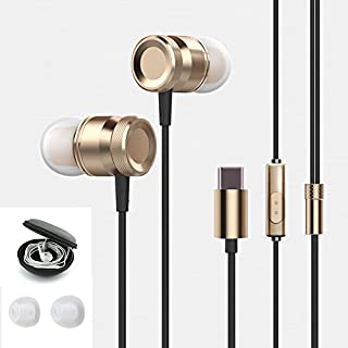 antfees USB der U89 Kopfhörer in-Ear Full Digital verlustfreie Audio, HiFi Level Dynamic Noise Sound Stereo-Tragetasche Kopfhörer mit Mikrofon