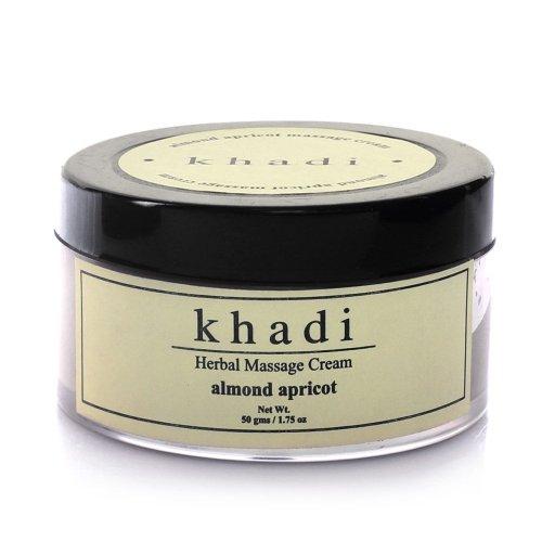 Khadi Almond albicocca massaggio Cream 50gms Ideal
