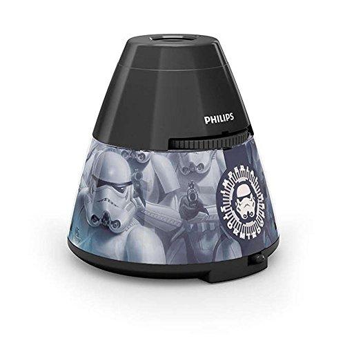 (Philips 717699916 DIS Star Wars Tischprojektor Material: Kunststoff)