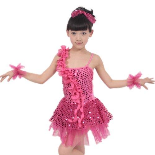 Seawhisper Vestito, Bambine e ragazze, bambini ballo della Paillettes Dress