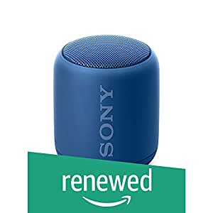 (Renewed) Sony Extra Bass SRS-XB10 Portable Splash-Proof Wireless Speakers with Bluetooth and NFC (Blue)