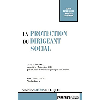 La Protection du dirigeant social
