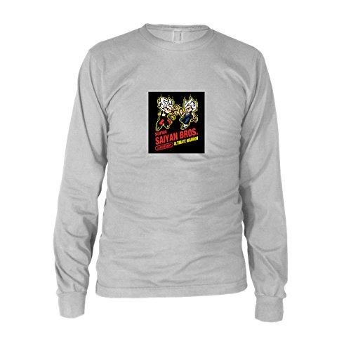 os Game - Herren Langarm T-Shirt, Größe: XXL, Farbe: weiß (Beat Box Kostüm)
