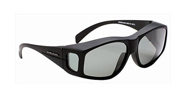 d09c4078105 High Quality Small Polarized Sunglasses Overglasses   Hard Case -Grey Lens   Amazon.co.uk  Sports   Outdoors