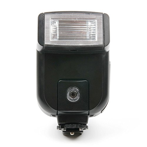 DURAGADGET Speedlite Blitz Hot Shoe Sync Port mit verstellbarem Pitch Winkel Für Canon EOS R / M50 / 4000D / 2000D / 200D / 77D / 800D / M5 Kameras Flash Hot Shoe Sync