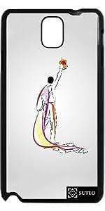 Coque Samsung Galaxy Note 3 – Dessin homme couronne – Freddie - ref 1205