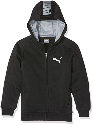 Sport Puma-Felpa con cappuccio da ragazzo, taglia: 14 anni (taglia del produttore: 164)