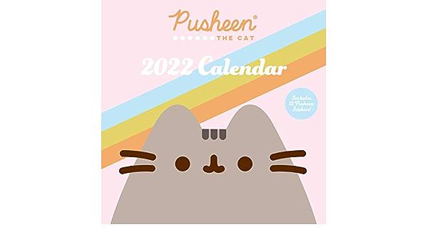 Pusheen Calendar 2022.Buy Pusheen 2022 Wall Calendar Book Online At Low Prices In India Pusheen 2022 Wall Calendar Reviews Ratings Amazon In