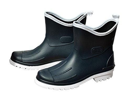 Bockstiegel , bottes en caoutchouc homme Bleu marine/blanc