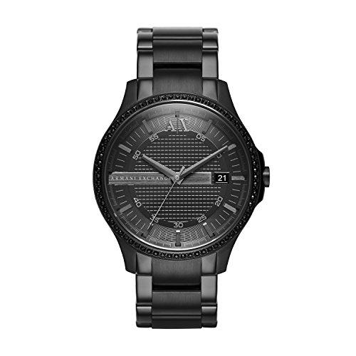 Armani Exchange Hommes Analogique Quartz Montre avec Bracelet en Acier Inoxydable AX2173