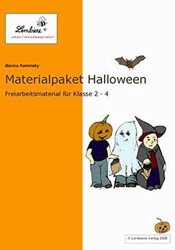 Materialpaket Halloween: Unterrichtsmaterialpaket für den fächerübergreifenden Unterricht in Klasse 2-4, CD ROM