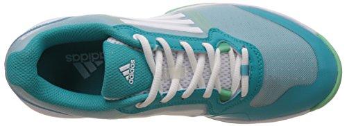 adidas Sonic Court W, Scarpe da Tennis Donna Multicolore (Verde / Blanco (Verimp / Ftwbla / Briver))
