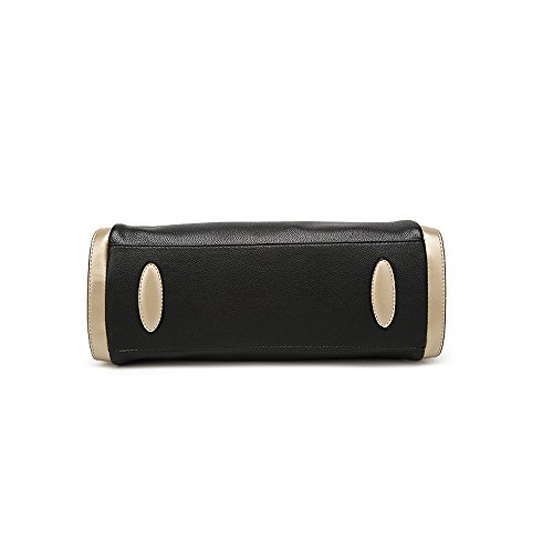 Grigio scuro Borse a tracolla borsa Donna Grandi Hobo Totes Messenger PU Pelle Borsetta Borgogna Borse