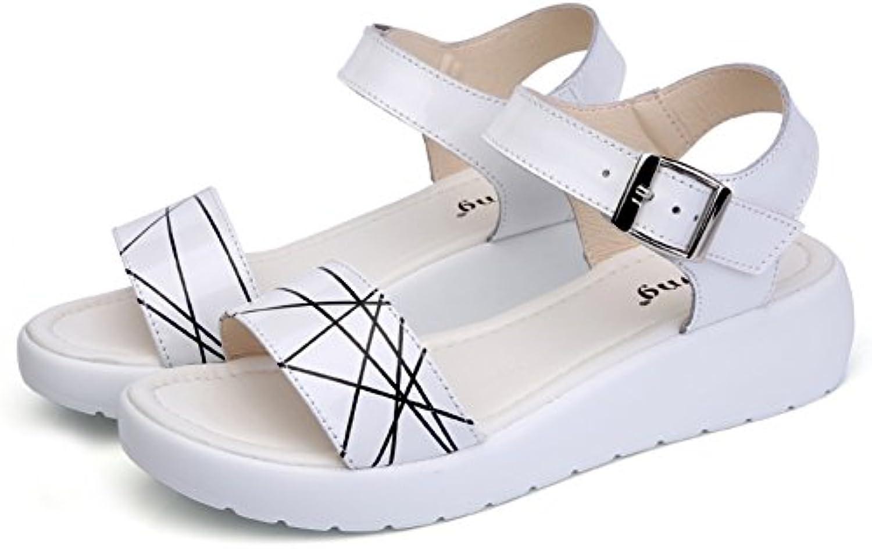rencontré rxl summer, summer, summer, Madame, talon plat, au milieu des sandales / anti dérapage, le confort des sandales b077bxzwsn parent e1cdfc