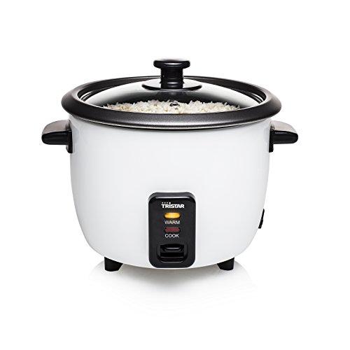 Si eres un amante del arroz y quieres un artículo práctico en tu hogar, no puedes quedarte sin la arrocera Tristar RK6117! Invita a tus familiares o amigos y demuéstrales el gran chef que llevas dentro. Este hervidor de arroz quedará genial en tu coc...