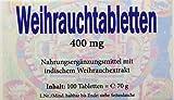 Gall Pharma Weihrauchtabletten 400 mg GPH, 1er Pack (1 x 70 g)