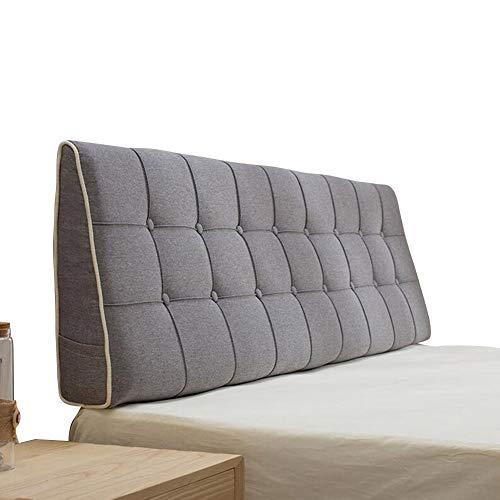 LIANGLIANG-kaodian Rückenlehne Bett Kissen Schlafzimmer Doppelbett Rückenkissen Weich Gemütlich Umweltschutz, 7 Größe (Color : B, Size : 180X50x15cm)