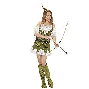 WIDMANN Disfraz de Robin del Bosque para Mujer - L
