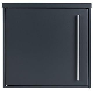 MOCAVI Box 101 Design-Briefkasten anthrazit (ral 7016) Wandbriefkasten aufputz, deutsche Qualität, praktisch und schön