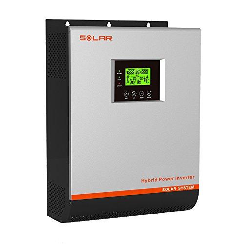 Inverter Solar 3 KW 24 V Hybrid Regler MPPT 50 A Ladegerät 30 A VPM