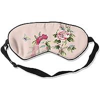 Beautiful Flowers And Butterfly Sleep Eyes Masks - Comfortable Sleeping Mask Eye Cover For Travelling Night Noon... preisvergleich bei billige-tabletten.eu