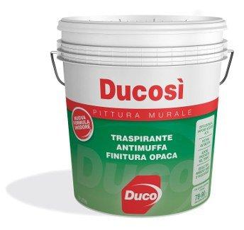 DUCOSI PROMASTER PITTURA MURALE PER INTERNI TRASPIRANTE ANTIMUFFA litri 13