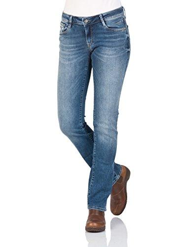 Mavi Olivia Damen Straight Jeans ,Blau (Dark Blue Str 24929),W29/L32