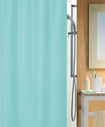 Spirella Primo cortina de ducha 180 x 180 cm verde menta. Textil
