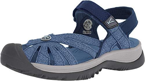 Keen Women Rose Sandal, 9,5US Women/40 EU, Blue Opal/provinicial Blue