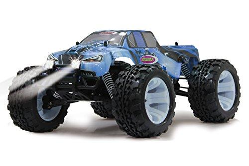 Tiger Ice Monstertruck 1:10 4WD NiMh 2,4G LED - Allrad, Elektroantrieb, Akku, 35Kmh, Aluchassis, spritzwasserfest, Öldruckstoßdämpfer, Kugellager, Fahrwerk einstellbar, fahrfertig - 5