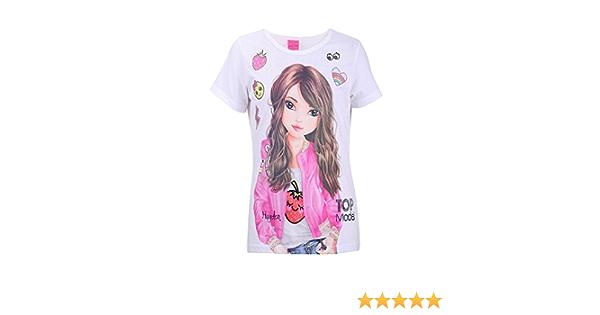 Neu TOPModel Set T-Shirt Rock für Mädchen 19443295 für Mädchen weiß