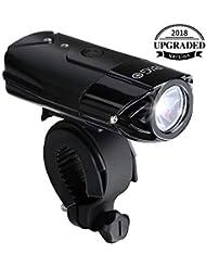 USB Recargable Luz de Bicicleta BIGO luz de La bici LED Impermeable linterna delantera para bicicletas 3 Modos De Iluminación, 900 LM