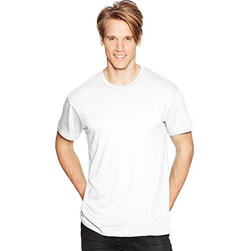 Hanes Mens Nano-T T-Shirt White